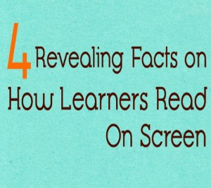 How Learners Read on Screen