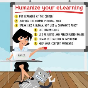 7 Tips for Humanising Your eLearning Courses